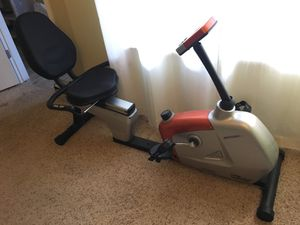 Velocity Exercise Magnetic Recumbent Bike for Sale in Walnut Creek, CA
