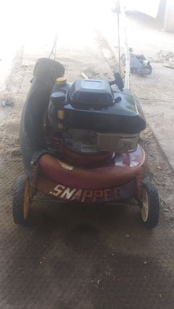 Snapper self propelled mower+))II for Sale in San Angelo,  TX
