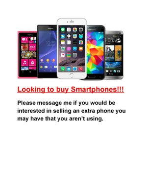 $$$$I buy smartphones.$$$$ for Sale in Baltimore, MD