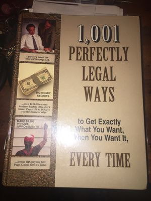 1,001 perfectly legal ways to get what u want every time for Sale in New Orleans, LA