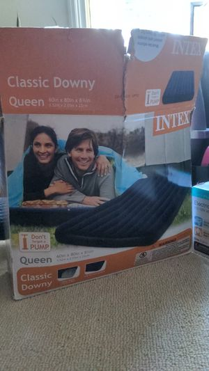 Air Mattress & Electric Pump - Never Used for Sale in Long Beach, CA