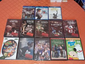 $35 (GREAT DEAL) Movie lot of 13 ESPN Poetic Justice and more for Sale in New York, NY