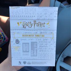 Harry Potter Golden Trinket Box for Sale in Homestead,  FL