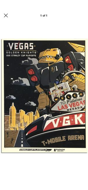 Vegas Golden Knights 2019 Chance Serigraph for Sale in Las Vegas, NV