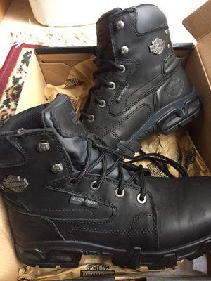 Harley Davidson men's 8-1/2 medium boots for Sale in West Deptford, NJ