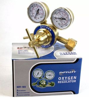 Welding Oxygen Brass Regulator For Oxy Victor Type Torch Cutting CGA 540 for Sale in Industry, CA