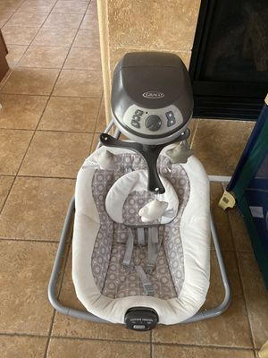 Baby kid's stuff Bouncer chair, baby swing, playing mat for Sale in Las Vegas, NV