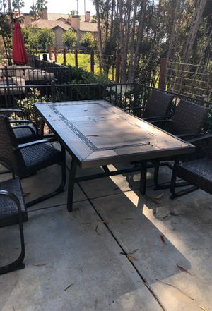 Patio furniture 500.00 for Sale in San Diego, CA