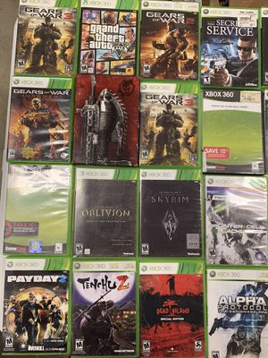 Xbox 360 games for Sale in Bakersfield, CA