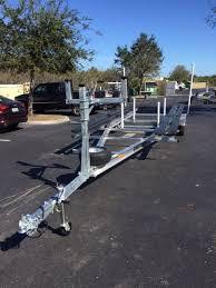 Pontoon Trailer Aluminum - 20-24' Tandem Axle - All stainless hardware - Aluminum pontoon trailer for Sale in Plant City, FL