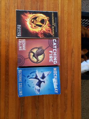 Hunger Games Trilogy for Sale in Traverse City, MI