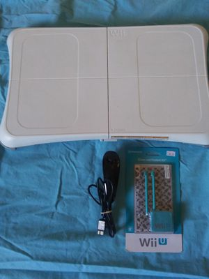 Nintendo Wii Balance Board, Controller and Clean/Protect Kit for Sale in Pensacola, FL
