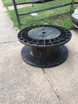 Large cable spindle only $40 firm pick up in Glenburnie for Sale in Glen Burnie, MD