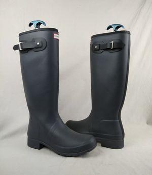 Hunter Original Gray Rain Boots Women's Size 9 M for Sale in Lakeland, FL