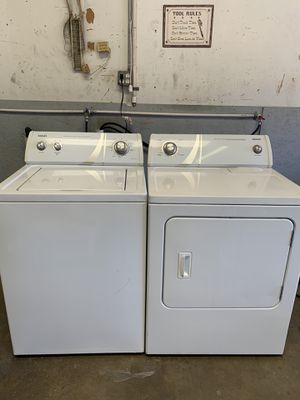 ADMIRAL WASHER AND ELECTRIC DRYER for Sale in Irving, TX