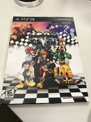Kingdom Hearts 1.5 HD Remix for PS3 for Sale in Mercer Island, WA