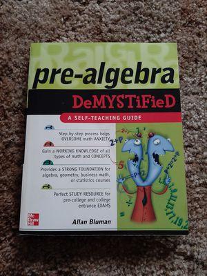 Algebra Textbook for Sale in Ocean Shores, WA