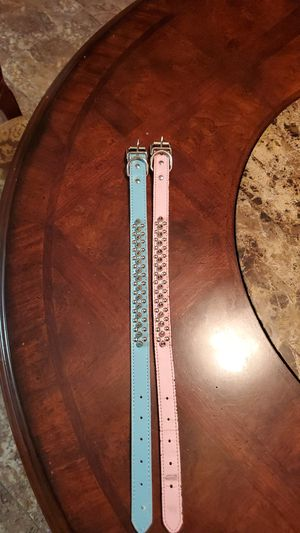 Two Spiked Dog Collars for Sale in Fresno, CA