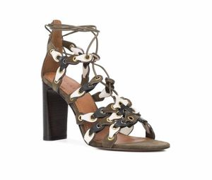 COACH Signature Link Lace-up Sandals In Fatigue/chalk/black New without box Size 7.5 for Sale in Tallmansville, WV