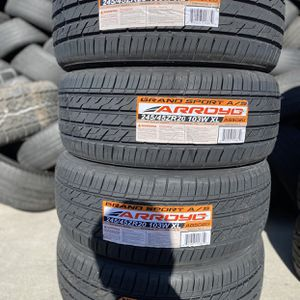 245/45R20 Arroyo $440 Four Brand New Tires ( Installation & Balancing Included ) for Sale in Rialto, CA
