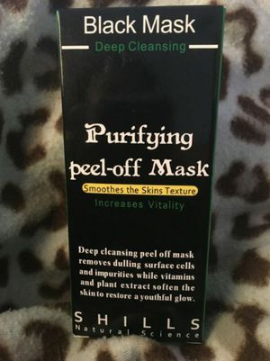 Black face peel mask for Sale in Fort Worth, TX