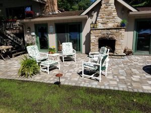 Outdoor furniture with cushions for Sale in Pequot Lakes, MN