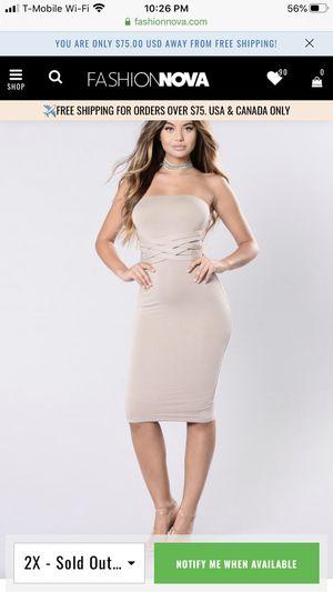 Fashion nova dress for Sale in Antioch, CA