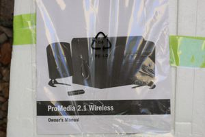 Klipsch ProMedia 2.1 THX computer speaker system w/subwoofer. NEW for Sale in Scottsdale, AZ