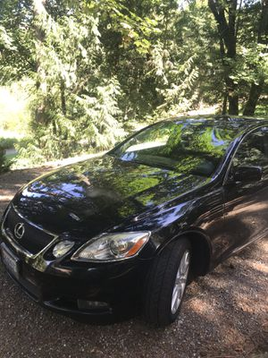 Lexus GS 300 Black for Sale in Issaquah, WA