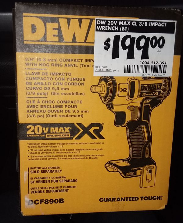 Dewalt tool Bundle 20v XR