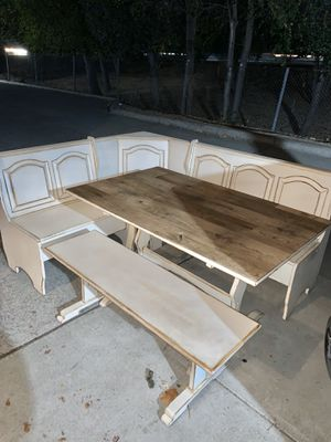 Kitchen table and Benches for Sale in Concord, CA