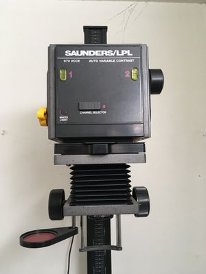 photo enlarger w/timer and lenses for Sale in Inglewood, CA