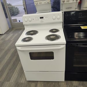 Brand New 2019 White Hotpoint Electric Range-Warranty Included for Sale in Sacramento, CA