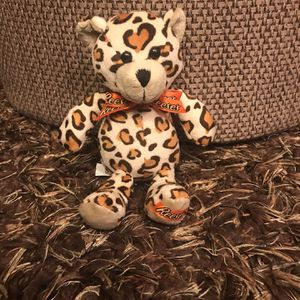 Reese's Galerie Teddy Bear with Leopard Spots for Sale in San Bernardino, CA