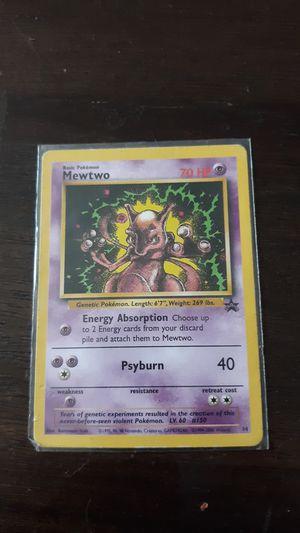 Rare 1995 Mewtwo Promo card for Sale in Greensboro, NC