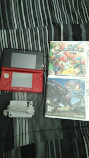 Nintendo 3DS with 2 games for Sale in Columbus, OH