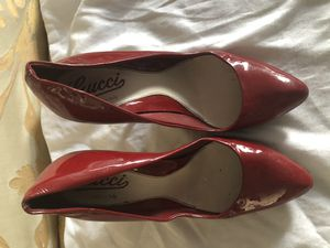 Gucci pumps red heels for Sale in Miami Beach, FL