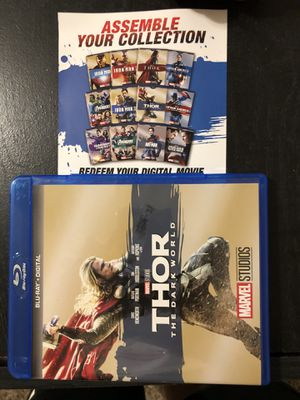 Thor the dark world Digital code for Sale in Lewisville, TX
