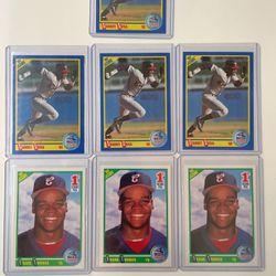 Frank Thomas 663 & Sammy Sosa 558 Score 1990 Rookie Lot Baseball Cards for Sale in Seattle,  WA