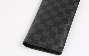 Louis VuittonGray Brazza Damier Graphite Portefeuille Wallet for Sale in Westminster, CO