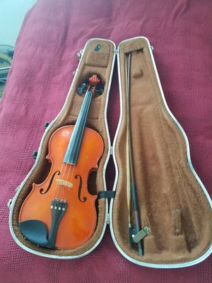 Professional Wooden Violin + Case for Sale in Hollywood, FL