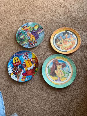 McDonald's/Hercules Disney Plates for Sale in Raleigh, NC