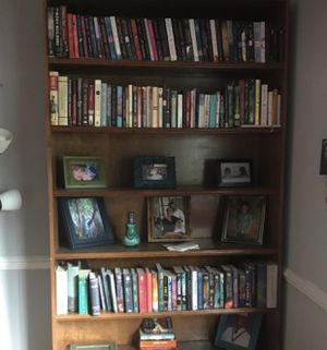 Solid oak bookshelves 2 for Sale in Falls Church, VA