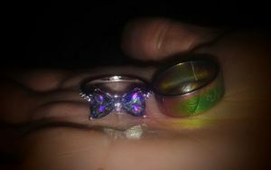 925 BoW RiNg & StaiNLeSs STeeL MuLtiCoLoReD RiNgs SeT for Sale in Bountiful, UT