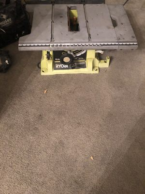 Ryobi table saw for Sale in Los Angeles, CA
