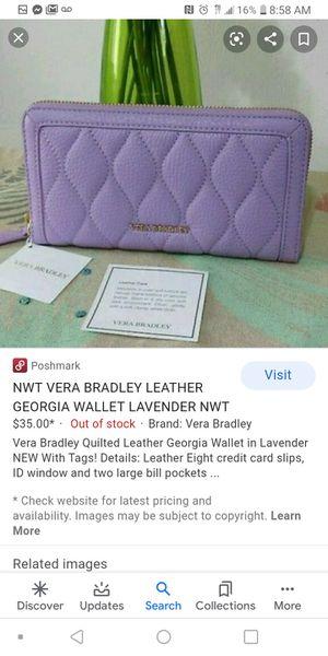 Vera bradley wallet for Sale in Palm Bay, FL