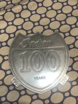 Indian 100 Years Plaque for Sale in Paramount, CA