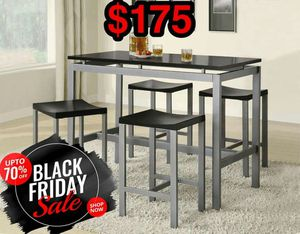 Dining Table with Stools for Sale in Dallas, TX