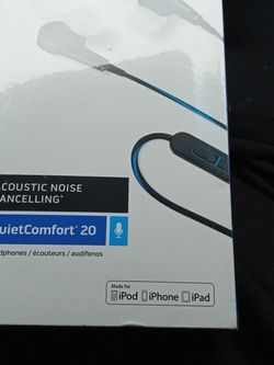 Bose Noise Cancelling Quet Comfort 20 for Sale in Vancouver,  WA