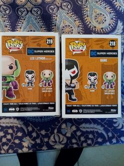 Exclusive DDC Legion Of Collectors Bane And Lex Luthor for Sale in Port Charlotte,  FL